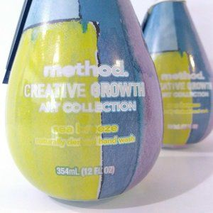 2 x Method Sea Breeze Hand Soap Limited Collection